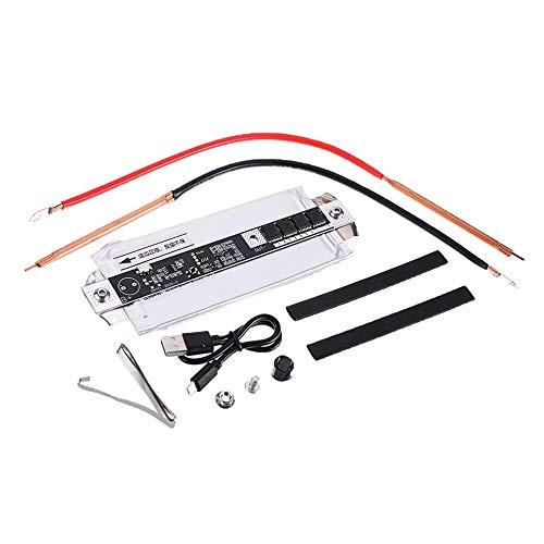 LeftSuper 5000Mah 65C batería 3,7-4,2 V Mini Soldador por Puntos portátil Conector de Barra de níquel DIY con módulo de Control de Carga Soldador de puré