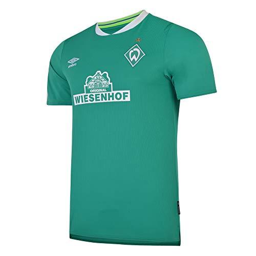 UMBRO SV Werder Bremen Trikot Home 2019/2020 Kinder grün/weiß, L