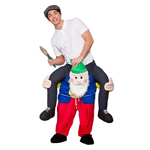 """Carry Me\"" Mascot - GNOME Costume Funny Fancy Dress"