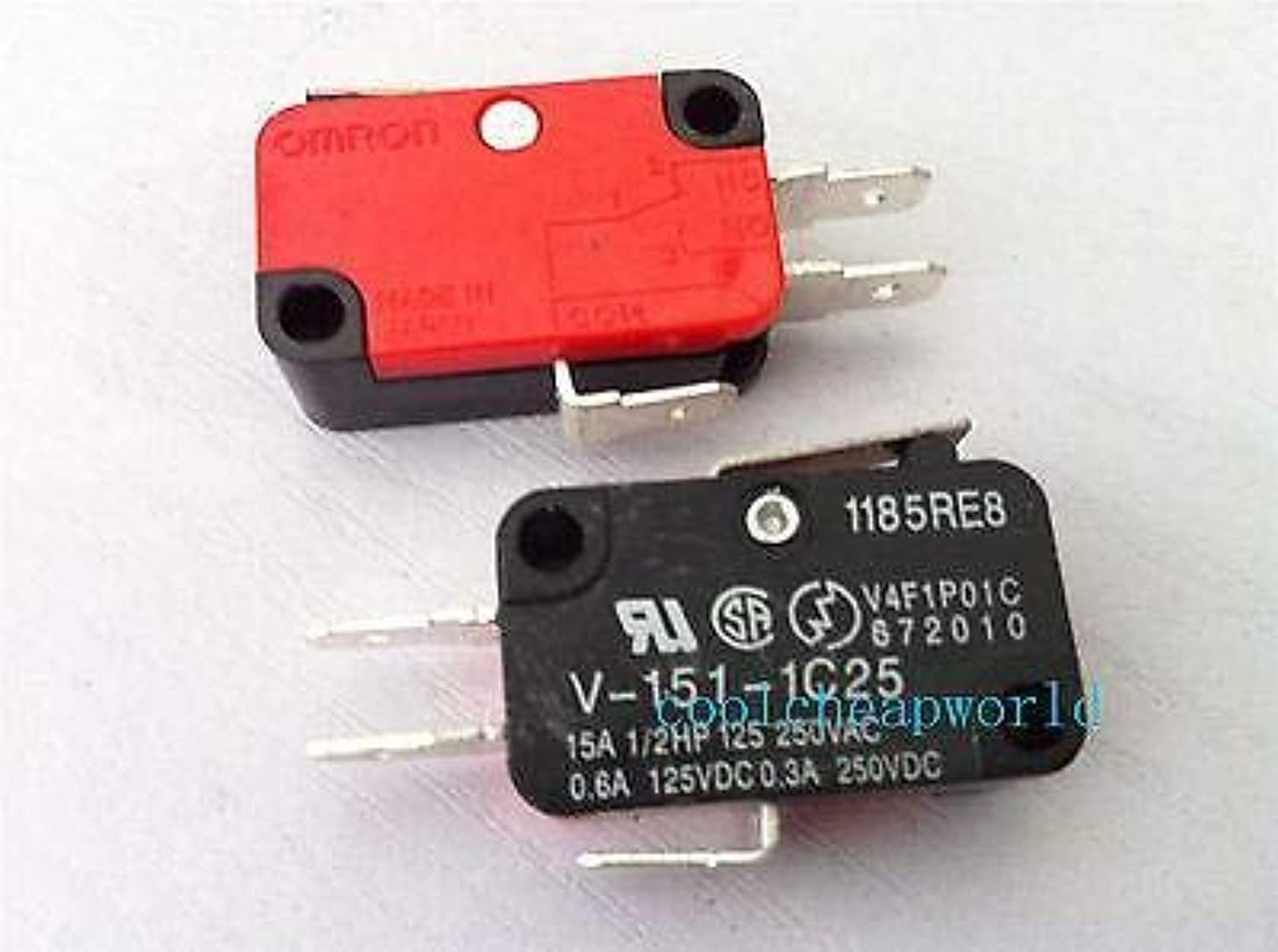 20pcs V1511C25 Momentary Limit Micro Switch SPDT Snap Action Switch