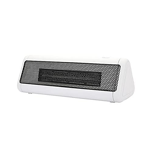 Mini Calentador De Ventilador De Escritorio Mini Calefactor Eléctrico Doméstico Máquina De Calentamiento Portátil Para Calentador De Oficina De Invierno,Blanco
