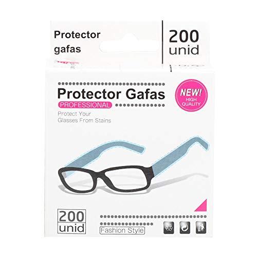 200 pz/1 rotolo occhiali usa e getta maniche maniche copertura tinture per capelli occhiali protezione dei capelli tinture per capelli shampoo protezione dei piedi occhiali accessorio(200pcs/box)