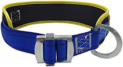 Aoneky Body Belt with Hip Pad and Side D-Ring, Fall Arrest Safety Harnesses