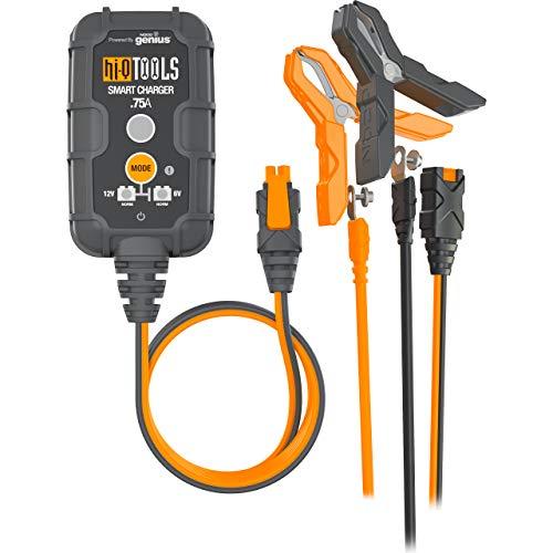 Hi-Q Tools motorvoertuig oplader auto-accu auto motor oplader Batterijlader PM750 Canbus, 6/12V 750mA, voor loodzuur, Multipurpose, het hele jaar door, kunststof