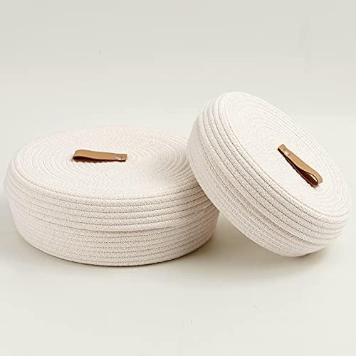 Linen Storage Basket with Lids