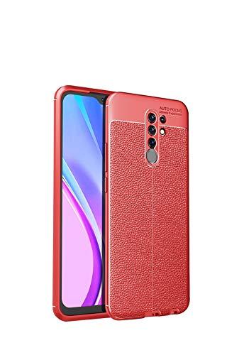 Bolso de un teléfono portátil Para Redmi 9 Case, para el caso Redmi 9 Prime (Indian Edition), para MI POCO M2 Case, Teléfono móvil resistente a los choques de la textura de la textura de la textura de