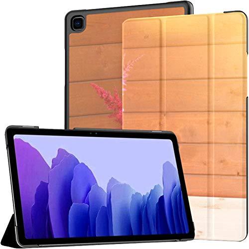 Samsung A7 Tablet Hülle Rot Rosa Schöne Astilbe Blumen Glas Hülle Für Samsung Galaxy Tab A7 10,4 Zoll 2020 Release Schutzhülle Samsung Galaxy A7 Hülle Abdeckung Tablet Pu Ledertasche