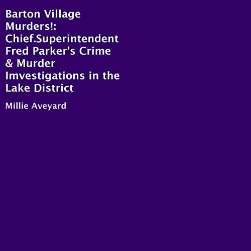 Barton Village Murders! audiobook cover art