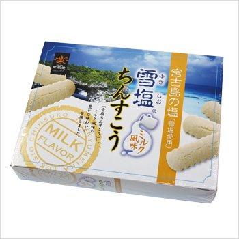 南風堂株式会社 雪塩ちんすこう ミルク風味 小 24個入 ×40箱 1ケース 南風堂 沖縄 人気 土産 宮古島の雪塩を使用したおすすめのちんすこう。