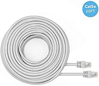 25FT Black EYSOFT CAT 8 Ethernet Cable Network Ethernet LAN Cable,High Speed 40Gbps 2000Mhz SFTP LAN Wires Internet Patch Cable with RJ45 Connector Compatible with Router,Modem,Gaming