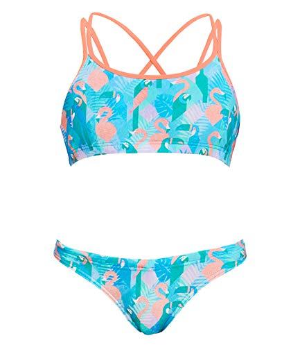 Funkita Mädchen Criss Cross Two Pieces Pastel Paradise Bikini (AUS12 / 164)