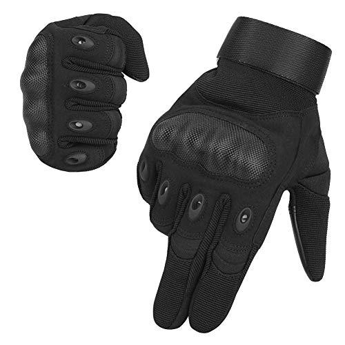 SKYSPER Gants de Moto Écran Tactile Plein-Doigt Gant Moto Homologué CE Femme et Homme Gants Tactiques de Sport en Plein Air Gants pour Motocross Combat Escalade Camping Chasse Vélo