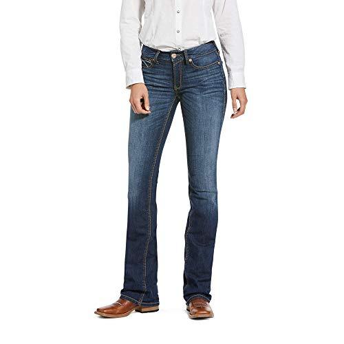 ARIAT Women's R.e.a.l. Perfect Rise Stretch Rosa Boot Cut Jean Lita Size 31 R