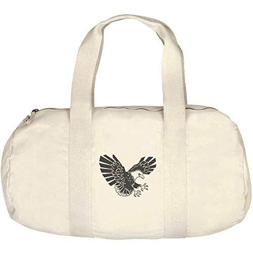 Azeeda 'Eagle' Canvas Duffle / Gym Bag (DF00014515)