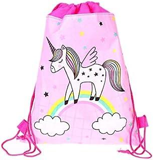 Cartoon cloud little unicorn nonwoven cloth drawstring bagCartoon cloud little unicorn nonwoven cloth drawstring bag