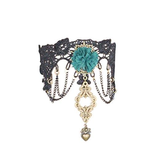 TENDYCOCO Einstellbare Armmanschette Oberarm Band Elastische Armbinde Armband für Frauen Mädchen (Schwarz)