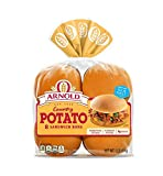 Arnold Country Potato Hamburger Buns, 15 Oz, 8 Count - 2 Packs