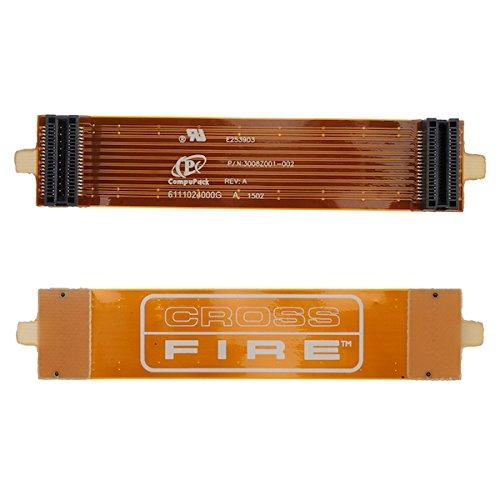 BisLinks® CrossFüre AMD ATI Br?cke Verbinder Biegen Flexibel Kabel 100mm 10cm 4