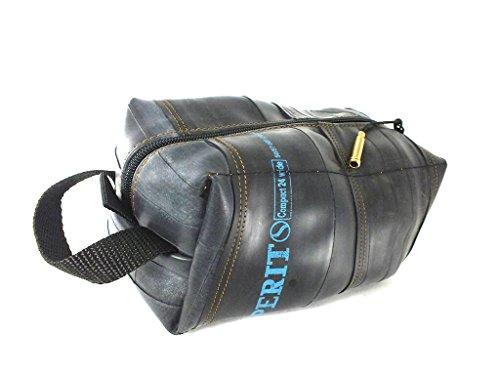 TOILETTENARTIKEL Fall | Werkzeuge Fälle | Hängende Tasche | aus Umweltfreundlichem Recyceltem Fahrradschlauch | Extra Weich