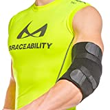 BraceAbility Cubital Tunnel Syndrome Brace - Ulnar Nerve Padded Elbow Splint for Sleeping and Daytime Support for Radial Neuropathy and Nerve Entrapment Treatment Pain-Relief and Recovery (Universal)