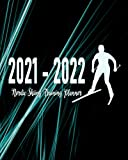 Nordic Skiing Training Planner 2021 - 2022: Coaching Calendar to Schedule Practice Sessions for Academic Year July 2021 to June 2022; Address Book for ... Dot Grid Pages for Planning Game Strategies