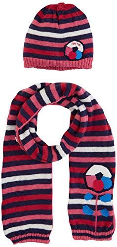 Tuc Tuc 50377 Set de bufanda, gorro y guantes, Rosa (Rosa 1), 1 (Tamaño del fabricante:46) para Niñas
