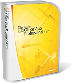 Microsoft Visio Professional 2007 Version Upgrade [Old Version]