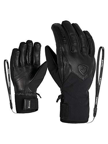 Ziener Damen KABIRA GTX PR Ski-Handschuhe/Wintersport | Wasserdicht, Atmungsaktiv, Sehr Warm, Gore-tex, Primaloft, Black, 7,5