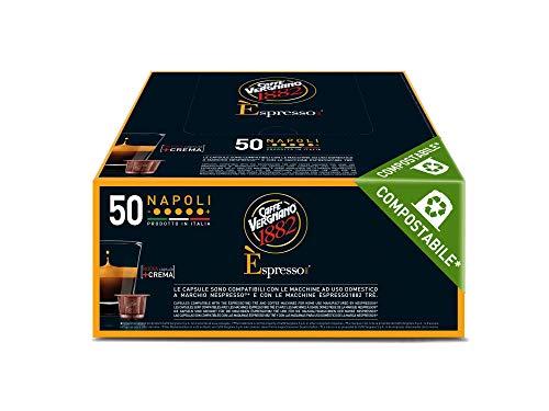OFFERTA RISPARMIO Vergnano: 120 Capsule Compatibili con nespresso miscela NAPOLI