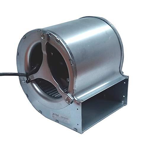 Easyricambi Zentrifugalventilator Trial CAD12R-001 für Pelletöfen Länge 164 mm Mundstück: 146x63 mm