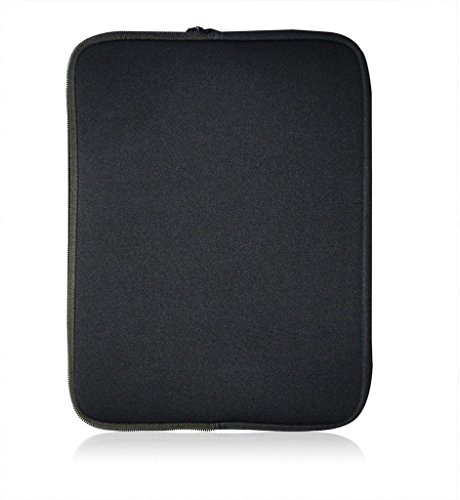 Sweet Tech Neopren Schutzhülle Sleeve passend für Odys TrendBook 12 Windows Notebook 29,5 cm (29,5–31,8 cm Laptop) schwarz