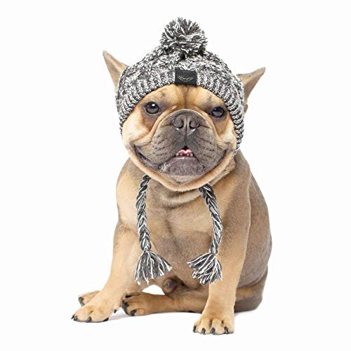 Warm Pet Dog Knitted Hat,Dog Hats for Small Dogs,Warm Winter Dog Hat Knit Snood Headwear for Pets, Pet Christmas Winter Warm Caps (S)