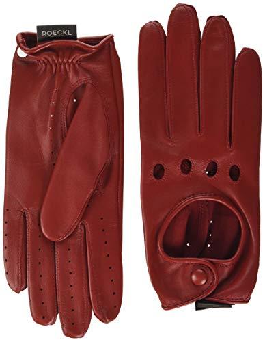 Roeckl Damen Young Driver, sportiv, eleganter Autofahrer Handschuhe, Rot (Classic Red 445), 6.5
