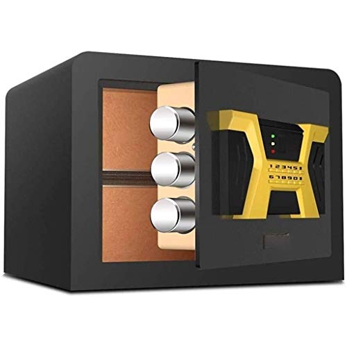 Cabinet Safes, Digital Safe Box, Extra Large Cabinet Safe with Removable Shelf Code&Emergency Override Key, Built-in Alarm Wall/Floor Mounted for Laptop Jewelry Document Home Office Hotel 265360300