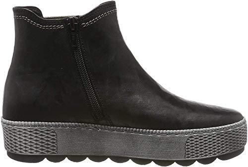 Gabor Shoes Damen Comfort Basic Stiefeletten, Schwarz (Schw(Gzpanale/Mel) 17), 38.5 EU