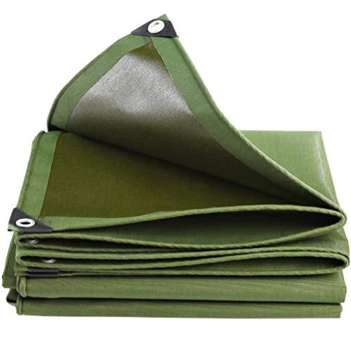 BYCDD Bâches Direct, Baches Plastique Couverture de bâche en Poly imperméable, Quatre Saisons, Usage général,Green_3x4m