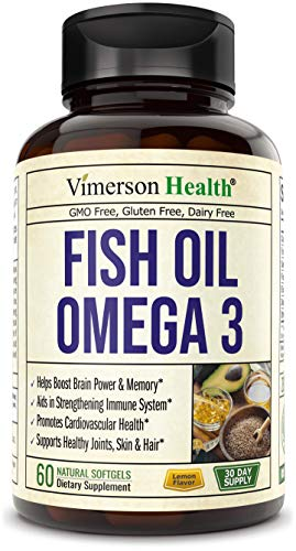 Fish Oil Omega 3 Softgels Supplement. Norway Sourced. Helps Boost Brain, Memory, Focus, Cognition. Promotes Cardiovascular and Immune Health. Supports Joints, Eyes and Skin. Essential Fatty Acids