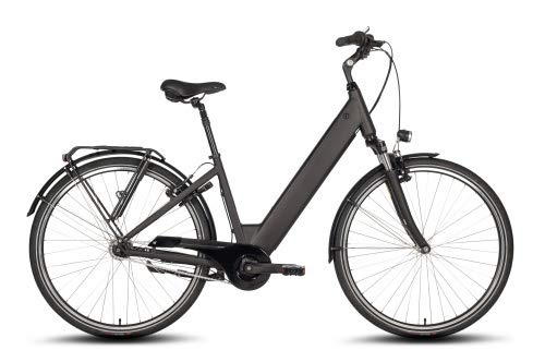 Bicicleta eléctrica de motor central con batería integrada, cambio de 7 marchas...