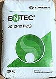 Abono NPK ENTEC 20-10-10. 25kgs. Fertilizante granulado de liberación progresiva de nitrógeno. Abono para cereales y olivos