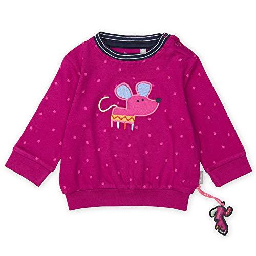Sigikid Baby - Mädchen Langarmshirt Langarmshirt,, per pack Rosa (fuchsia red 952), 98 (Herstellergröße: 98)