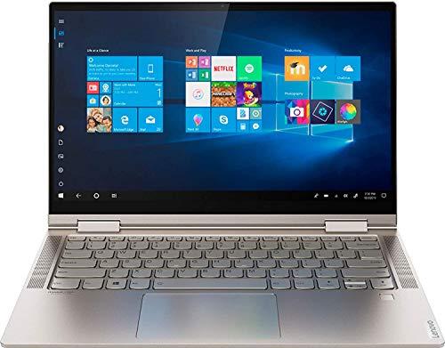 Lenovo Yoga C740 2-in-1 Laptop, 14' FHD Touch Display, Intel Core i5-10210U Up to 4.2GHz, 8GB RAM, 256GB NVMe SSD, Display Port via USB-C, Wi-Fi, Bluetooth, Windows 10 Home (Renewed)