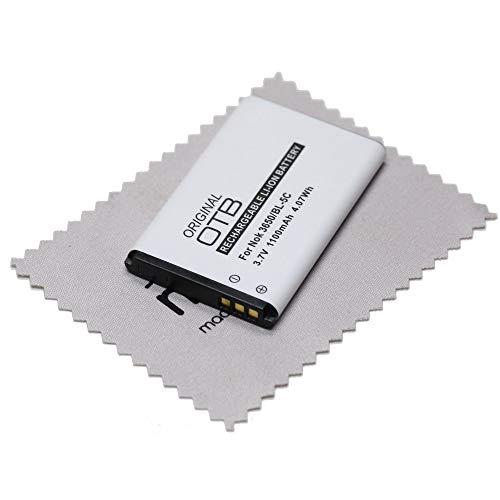 Batería de Repuesto para Philips Avent SCD600/10 (Equivalente a PX1728E-1BRS, 1icp06/35, AK54, 9133-5 C, BP de MPB16, CP10, dr6.2009, EZ388 +) OTB con mungoo Pantalla paño de Limpieza