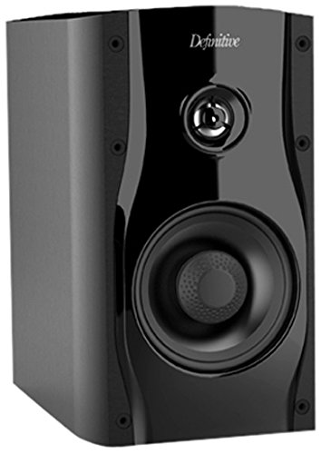 Definitive Technology SM45 Bookshelf Speaker - Black