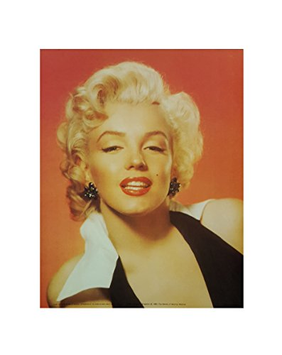Vintage Marilyn Monroe Head Shot Art Print (8'x10') (Print only (8'x10'))