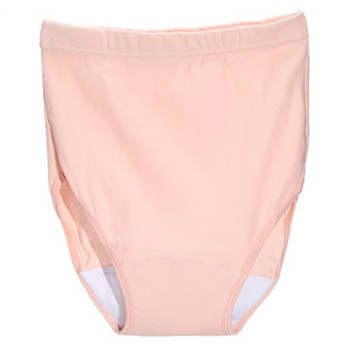 NaLi ナリ 軽い失禁用パンツ 尿漏れパンツ 女性用 消臭 抗菌 吸湿 漏れ防止 吸水量35cc 4L ピンク * 2