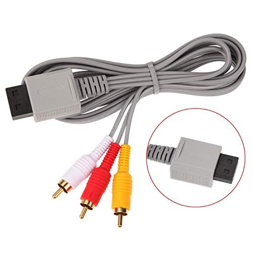 Selling Rumfo Memphis Mall 6Ft Wii AV Cable Audio Video Composite to RCA