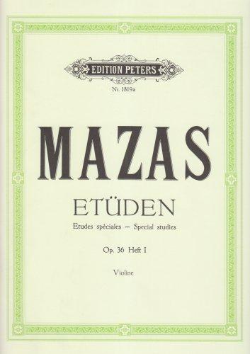 Etüden op. 36 / Etudes spéciales: Band 1, Etüden Nr. 1 - Nr. 30 (für Violine)