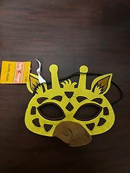 Spooky Village Giraffe Mask Costume New Yellow