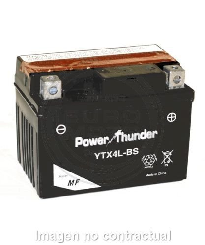 Power Thunder - Batería YTX4L-BS [0604511P]