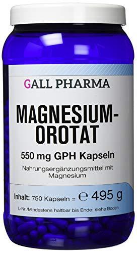 Gall Pharma Magnesiumorotat 550 mg GPH Kapseln, 750 Kapseln